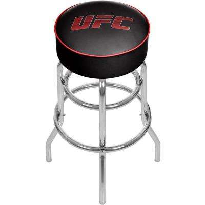 UFC II 31 in. Chrome Swivel Cushioned Bar Stool