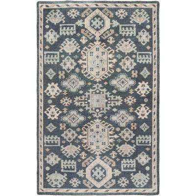 Taiga Ivory 6 ft. x 9 ft. Indoor Area Rug