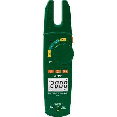 200A TRMS AC/DC Open Jaw Clamp Meter