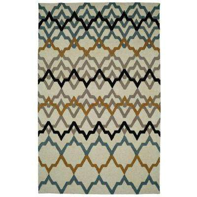 Palace Ivory 5 ft. x 8 ft. Indoor Area Rug