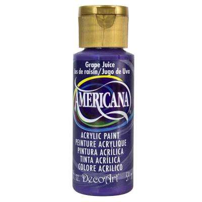 Americana 2 oz. Grape Juice Acrylic Paint