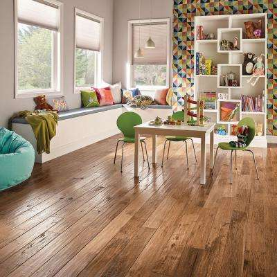 Revolutionary Rustics Hickory Rich Doeskin 3/4 in. T x 5 in. W x Varying L Solid Hardwood Flooring (23.5 sq.ft./case)