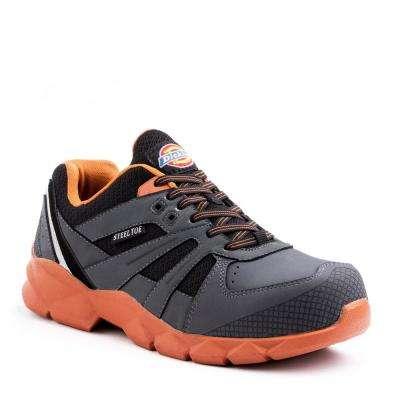 Rook Men Gray/Orange Work Shoe