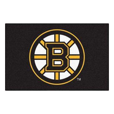 Boston Bruins 19 in. x 30 in. Accent Rug