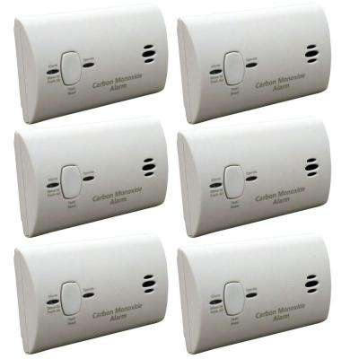 Battery Operated Carbon Monoxide Detector (6-Pack)