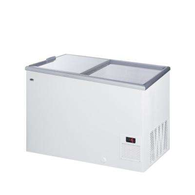 11.7 cu. ft. Manual Defrost Commercial Chest Freezer in White