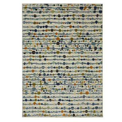 Delerus Falls Cool 7 ft. 6 in. x 10 ft. Area Rug