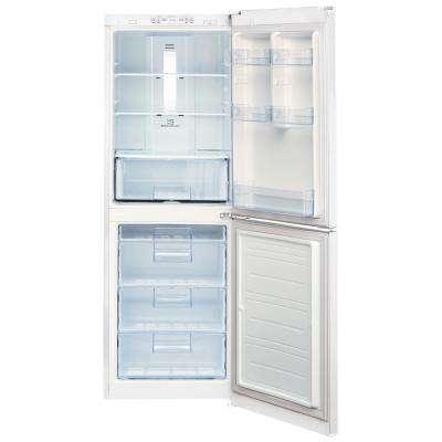 23.5 in. W 10.1 cu. ft. Bottom Freezer Refrigerator in White