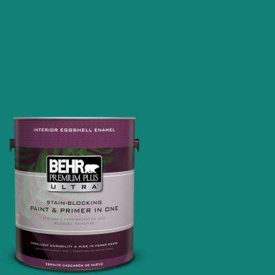 Home Decorators Collection 1-gal. #HDC-WR14-9 Green Garlands Eggshell Enamel Interior Paint