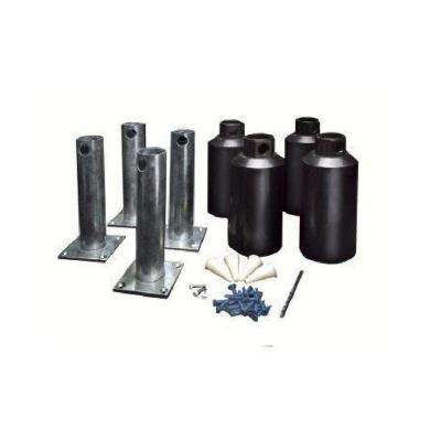4 in. Surface Mounting Kit (Set of 4)