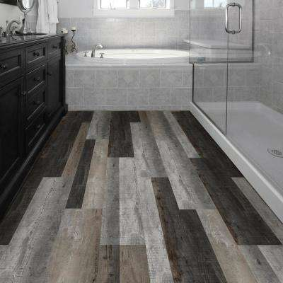 Multi-Width x 47.6 in. Distressed Wood Luxury Vinyl Plank Flooring (19.53 sq. ft. / case)