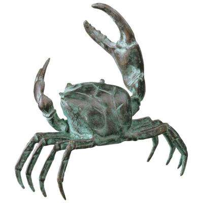 5 in. Bronze Crab Statue-DISCONTINUED