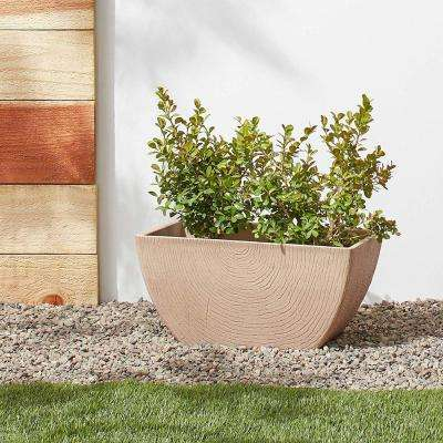 Concentric 23 in. x 8 in. x 7 in. Beige PSW Window Box