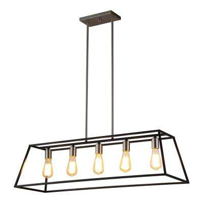 Agnes II 5-Light Black Pendant