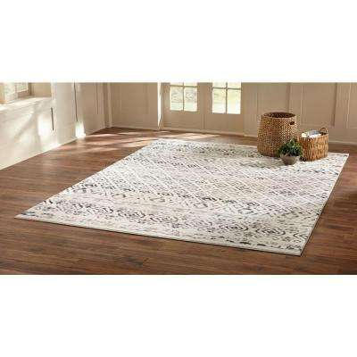 Tribal Essence Ivory 2 ft. x 7 ft. Runner Rug