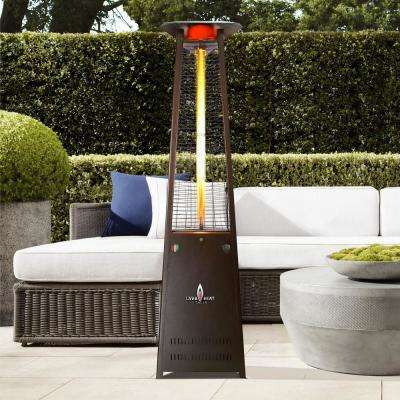 Lavalite A-Line 56,000 BTU 8 ft. Bronze Propane Patio Heater