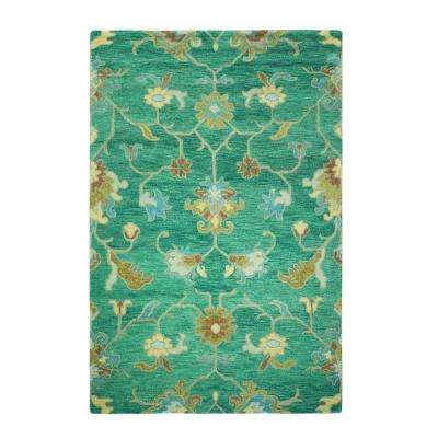 Montpellier Teal 8 ft. x 11 ft. Area Rug