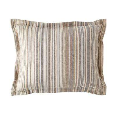 Bromley Stripe Cotton Sham