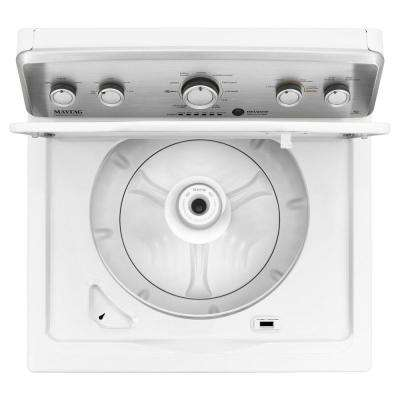 4.2 cu. ft. High-Efficiency White Top Load Washing Machine with Deep Water Wash and POWERWASH Cycle