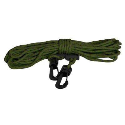 25 ft. Polyester 4 mm Cord with Clips