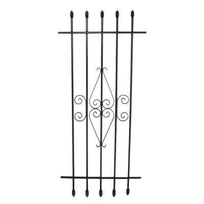24 in. x 54 in. Spear Point Window Guard