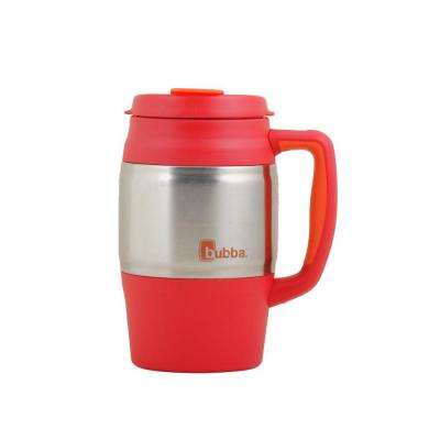 34 oz. (1.0 l) Insulated Double Walled BPA-Free Mug with Stainless Steel Band