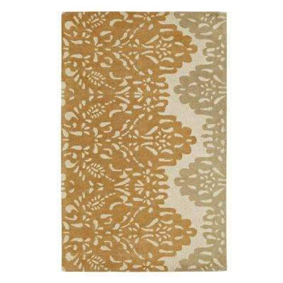 Palace Gold/Beige 4 ft. x 6 ft. Indoor Area Rug