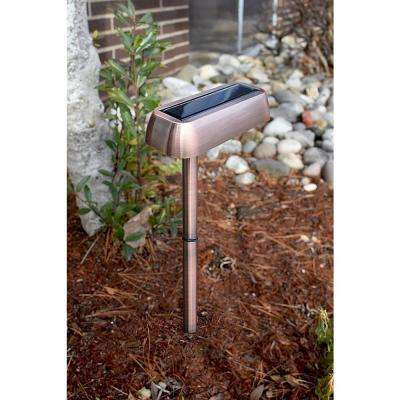 Copper Outdoor Integrated LED Spot Wall Pack Light (6-Pack)