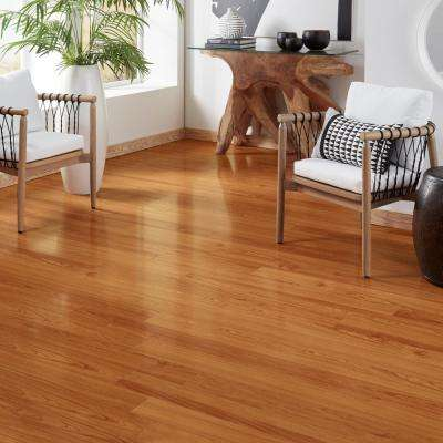 High Gloss Alexander Oak 8 mm Thick x 5 in. Wide x 47-3/4 in. Length Laminate Flooring (13.26 sq. ft. / case)