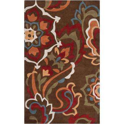 Mesquite Teal 9 ft. x 13 ft. Area Rug