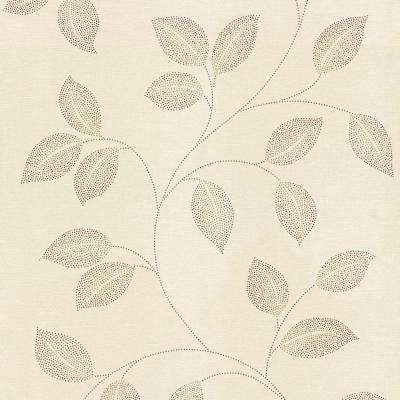 56 sq. ft. Limani Leaves Wallpaper