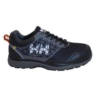 Loki SD Men's Black Nylon Composite Toe Static Dissipative Work Shoe