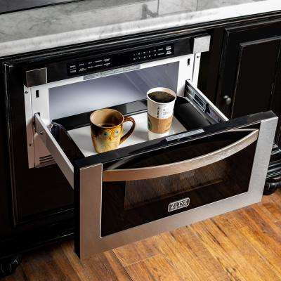 24 in. 1.2 cu. ft. Microwave Drawer in Stainless Steel