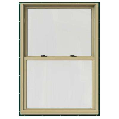 37.375 in. x 60 in. W-2500 Double Hung Clad Wood Window