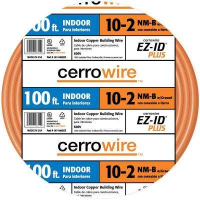 100 ft. 10/2 NM-B Wire, Orange