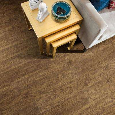 Jefferson 7 in. x 48 in. Honey Resilient Vinyl Plank Flooring (18.68 sq. ft. / case)
