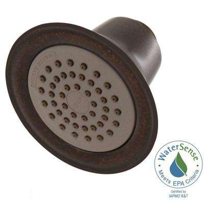 Eco-Performance Easy Clean XLT 1-Spray 3-3/8 in. Showerhead with Shower Arm and Flange in Oil Rubbed Bronze