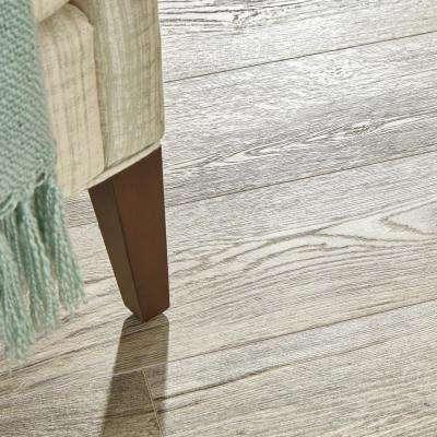 Silver Cliff Oak 12 mm T x 7.48 in. W x 50.67 in. L Water Resistant Laminate Flooring (18.42 sq.ft./case)