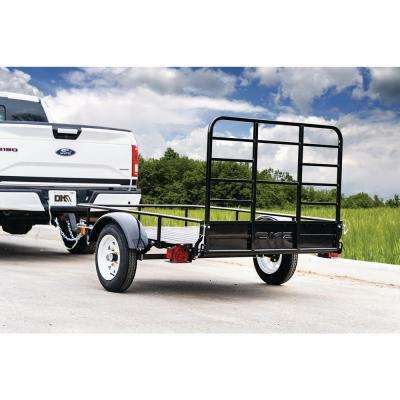 Flatbed Utility Trailers Towing Equipment The Home Depot