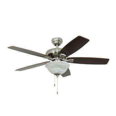 Ardmore 52 in. Brushed Nickel Ceiling Fan