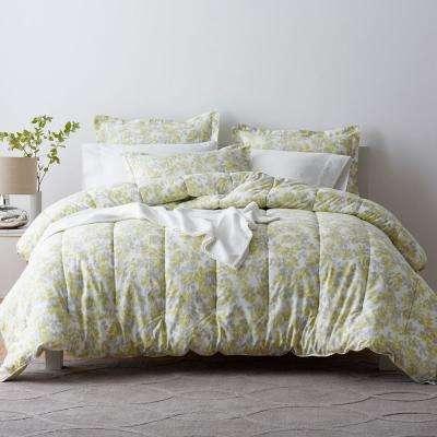 Whispering Leaves Sateen Comforter