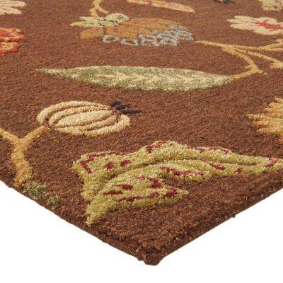 Portico Brown 5 ft. x 8 ft. Area Rug