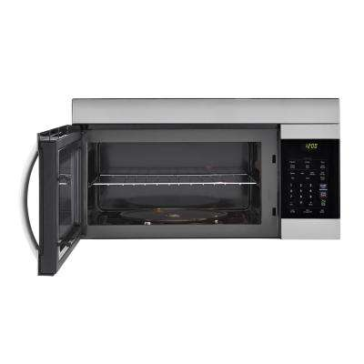 1.7 cu. ft. Over the Range Microwave Oven in Stainless Steel with EasyClean Interior