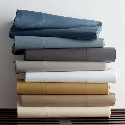 Legends Luxury Solid Sateen Flat Sheet