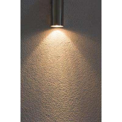 75-Watt White Outdoor Wall Lantern Sconce Down Light