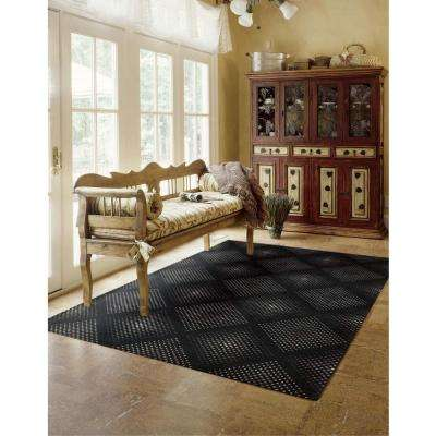 Utopia Onyx 8 ft. x 11 ft. Area Rug