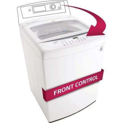 4.5 cu. ft. High-Efficiency Front Control Top Load Washer in White, ENERGY STAR