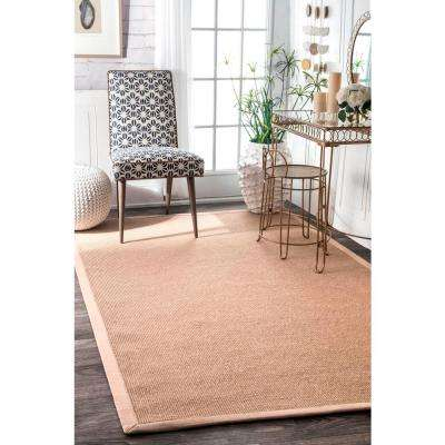 Laurel Jute Beige 3 ft. x 10 ft. Runner Rug