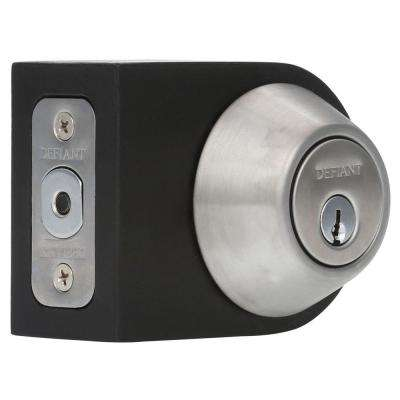 Single Cylinder Stainless Steel Deadbolt