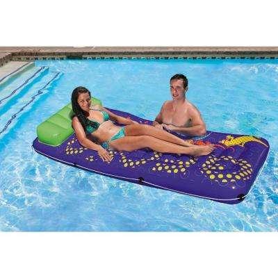 Gecko Hawaii Jumbo Swimming Pool Float Mattress